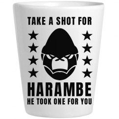 Take A Shot For Harambe