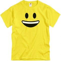 Funny Big Smiley Emoji Costume