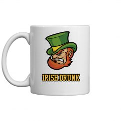 Irish Drunk St Patricks Drinkware
