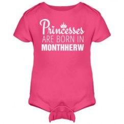 Funny Princesses Are Born In Monthherw