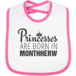 Princesses Are Born In Monthherw