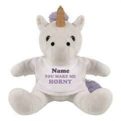 Unicorn Innuendo Funny Valentine
