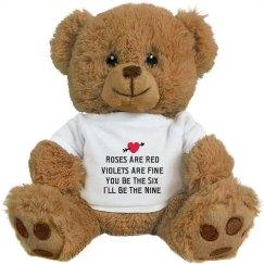 Naughty Poem Funny Valentine Gift