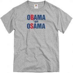 Obama Got Osama, Huh?