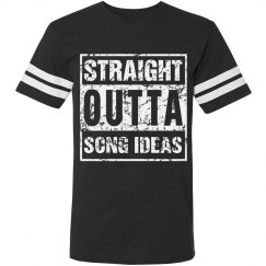 STRAIGHT OUTTA SONG IDEAS (DISTRESSED)