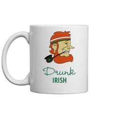 Drunk Irish St Patricks Drinkware