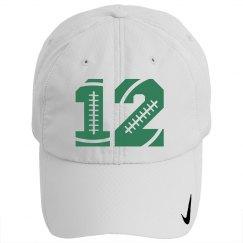 #12 Football Hat