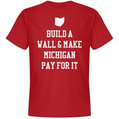 Build A Wall Funny Ohio Pride