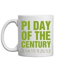 Pi Day Green Mug