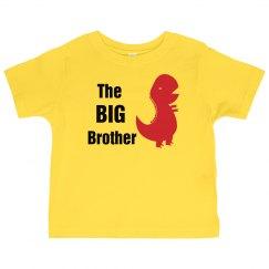 Big Brother Dinosaur Shirt for Kids