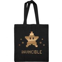 Metallic 8-Bit I Am Invincible