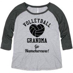Volleyball Grandma Go Namehereww!