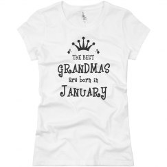 The best grandmas are born in January