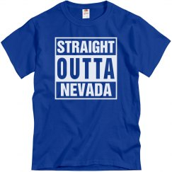 Straight Outta Nevada T-Shirt