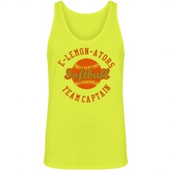 Neon Softball Team Tank