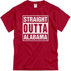 Straight Outta Alabama T-Shirt