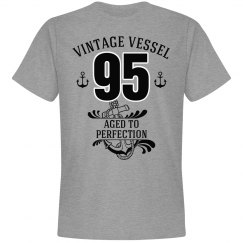 Nautical 95th birthday aged to perfection