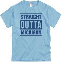 Straight Outta Michigan T-Shirt