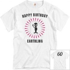 Happy bday earthling