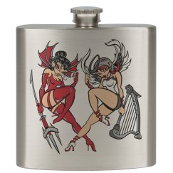 Angel/Devil Flask