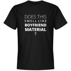 Boyfriend Material Line
