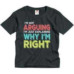 I'm Right Youth Basic Tee