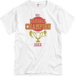 Kickball Champion