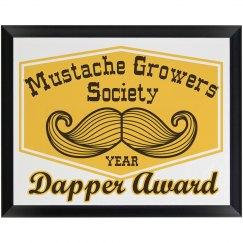 Dapper Mustache Award
