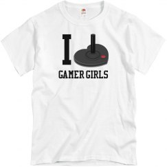 Love Gamer Girls T-Shirt