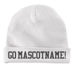 Baby Fan Hat Go Mascotname!