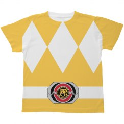 Yellow Ranger Kids Costume