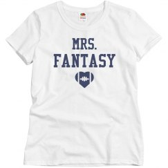 Mrs. Fantasy Football Girls Play