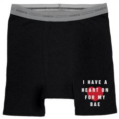 Got A Heart On Bae Boxer-Briefs