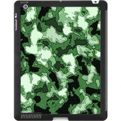 Digital Green iPad Case