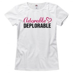 Adorable Deplorable Trump Supporter