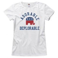 Adorable Deplorable Conservative