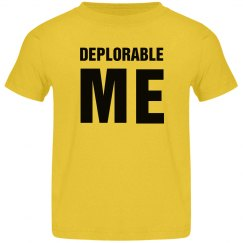 Deplorable Me Conservative Kids