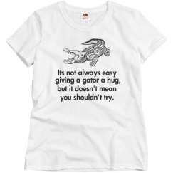 Not EZ 2 Give Gator Hugs