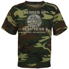 Seal Team 6 Youth Camo