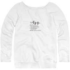 GG Sweatshirt - Relaxed Fit