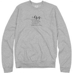 GG Sweatshirt - Unisex
