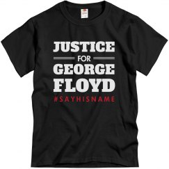 Justice For George Floyd BLM