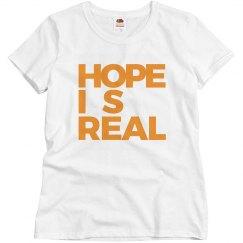 HOPE IS REAL BASIC TEE