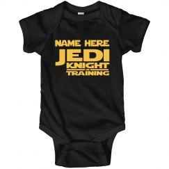 Custom Jedi Onesie