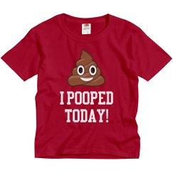 This Funny Kid Pooped Today