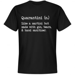 Quarantini Pandemic Humor