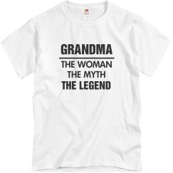 Number One Grandma Gift Shirt