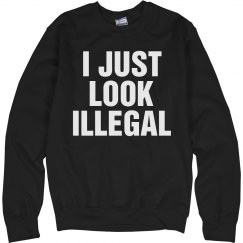 Just Look Illegal Top