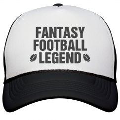 Fantasy Football Legend Hat