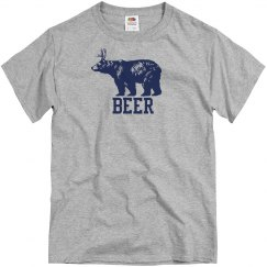 Deer And Bear Equals Beer